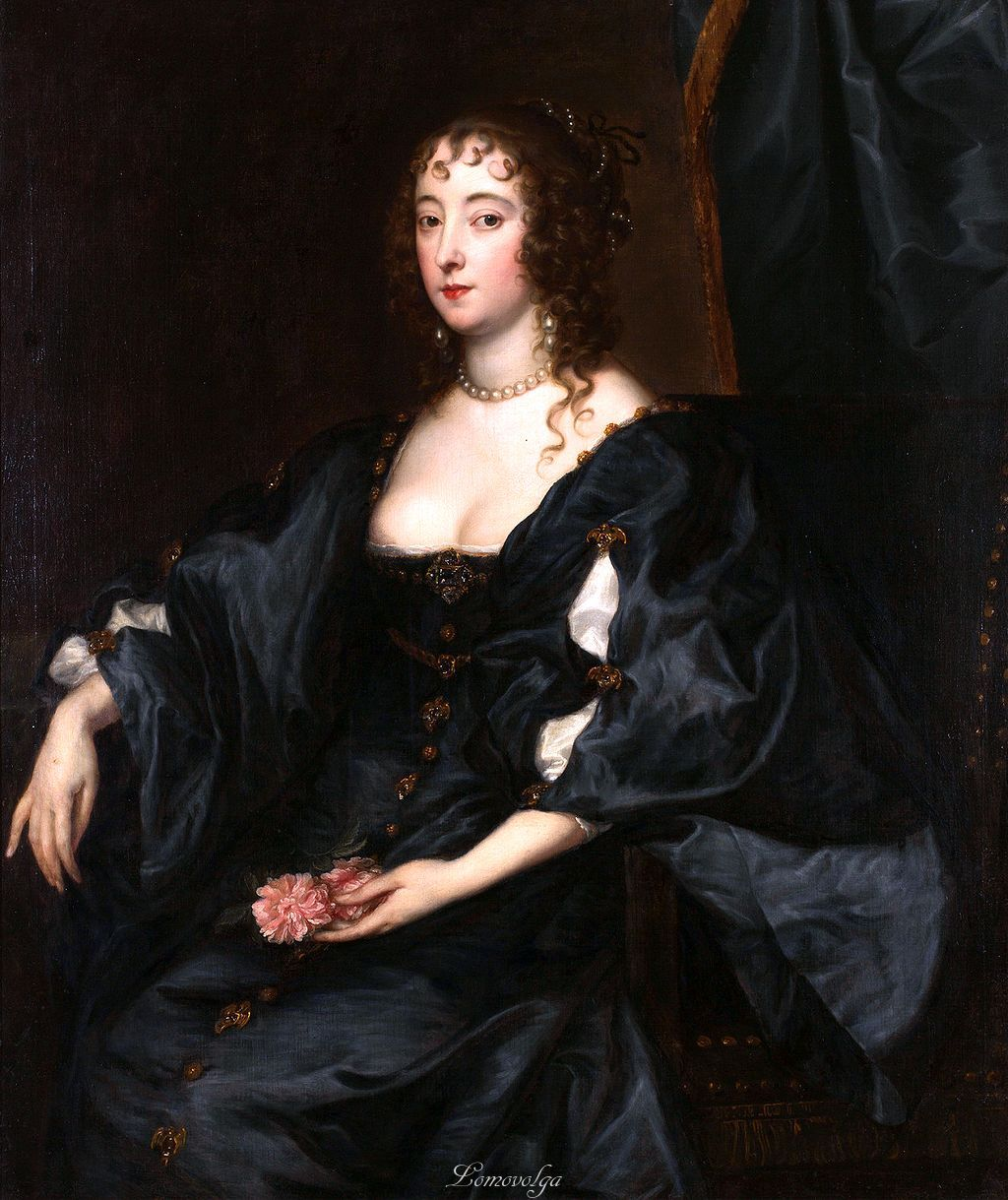 Margaret Lady Tufton Anthony Van Dyke Oil On Canvas Ca - Famous art museums in usa