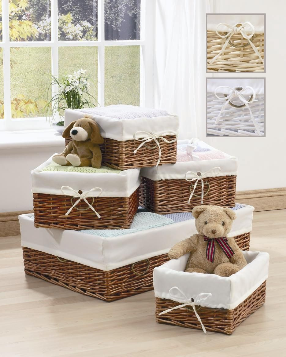 Beau Wicker Baskets: Chic Storage Solutions For Home