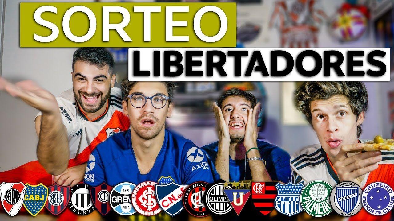 Reacciones A Sorteo De La Copa Libertadores 2019 Sorteo Copa Futbol