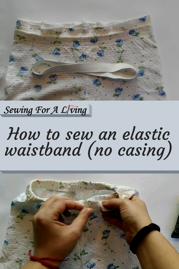 A tutorial on how to sew an elastic waistband. It comes with video and written instructions.