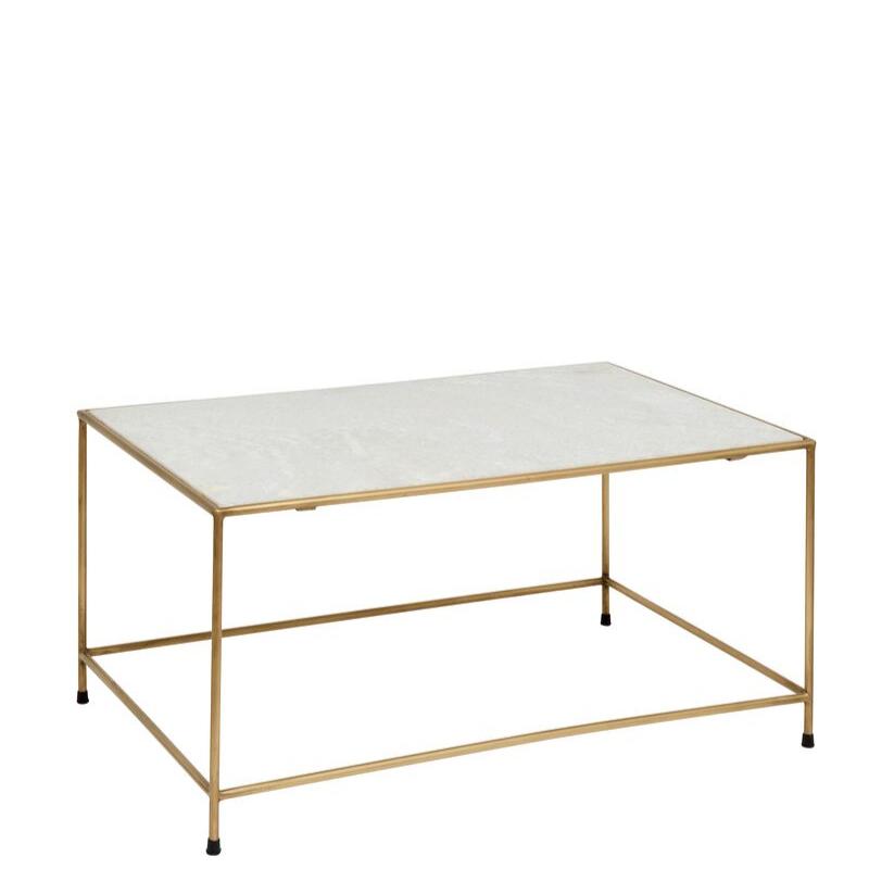 Table Basse Timeless Plateau Marbre Metal Dore Decoration Vintage Salon Nordal Avec Images Table Basse Table Basse Marbre Mobilier Naturel