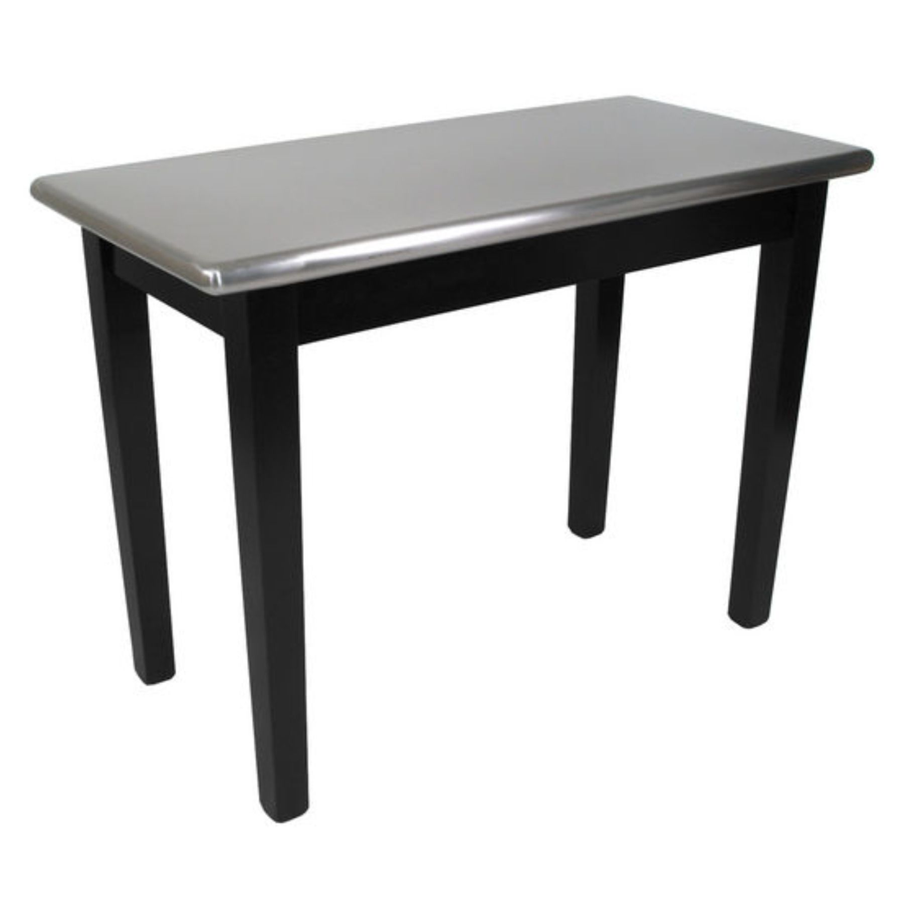John Boos Kitchen Island With Black Base And Stainless Steel Top Bar Kib