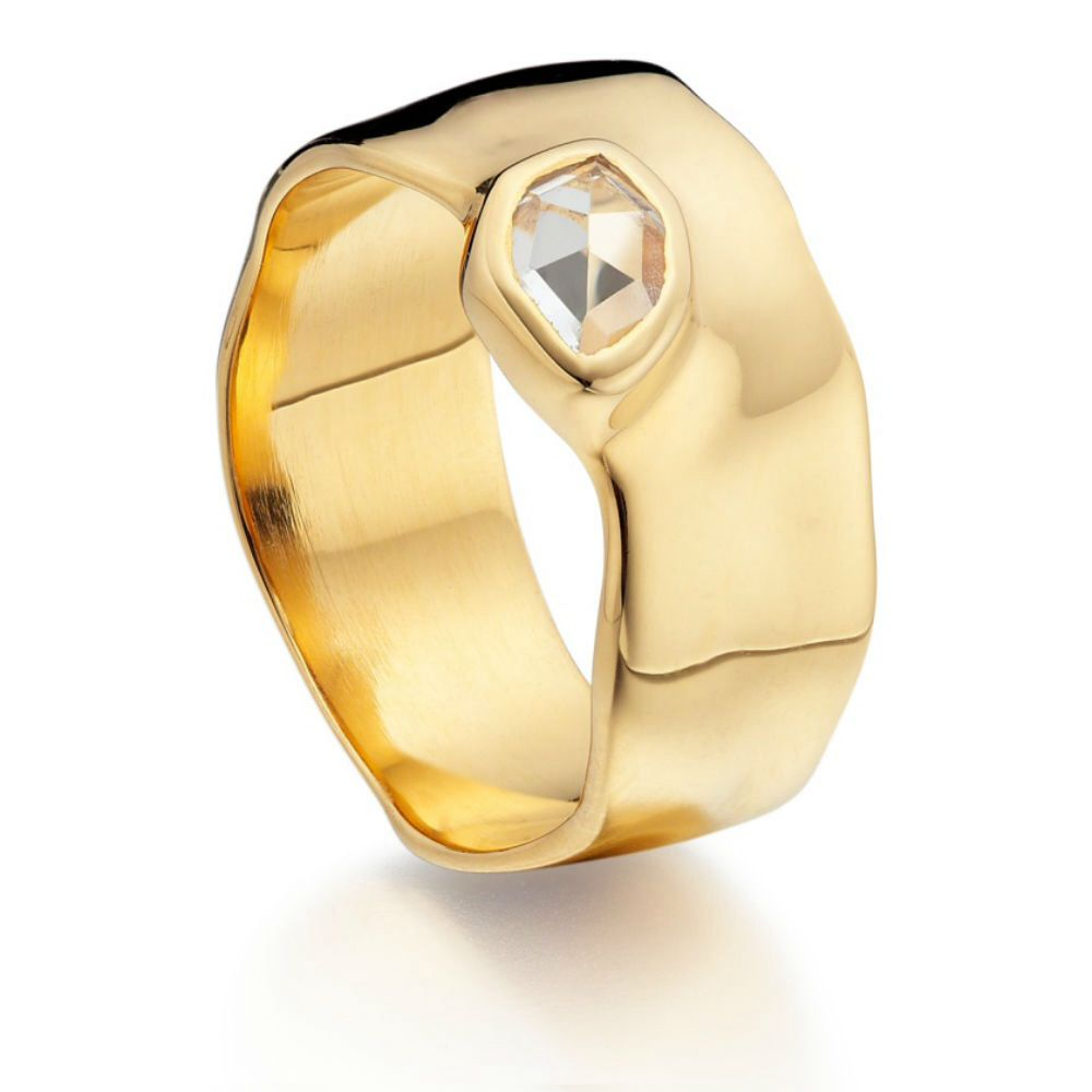 Interesting With Images Wide Band Rings White Topaz Jewelry Engagement Rings Affordable