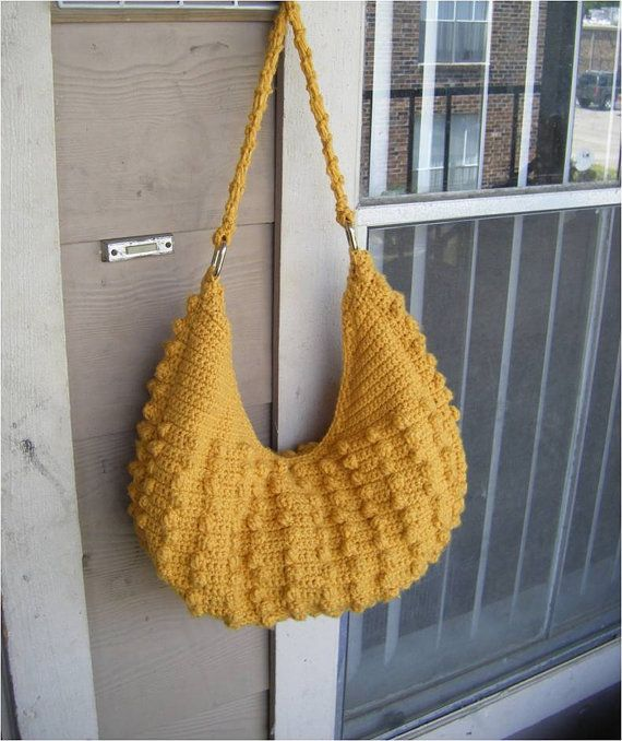 INSTANT DOWNLOAD Natalia Hobo Crochet Tote Bag - Pattern | Dos ...