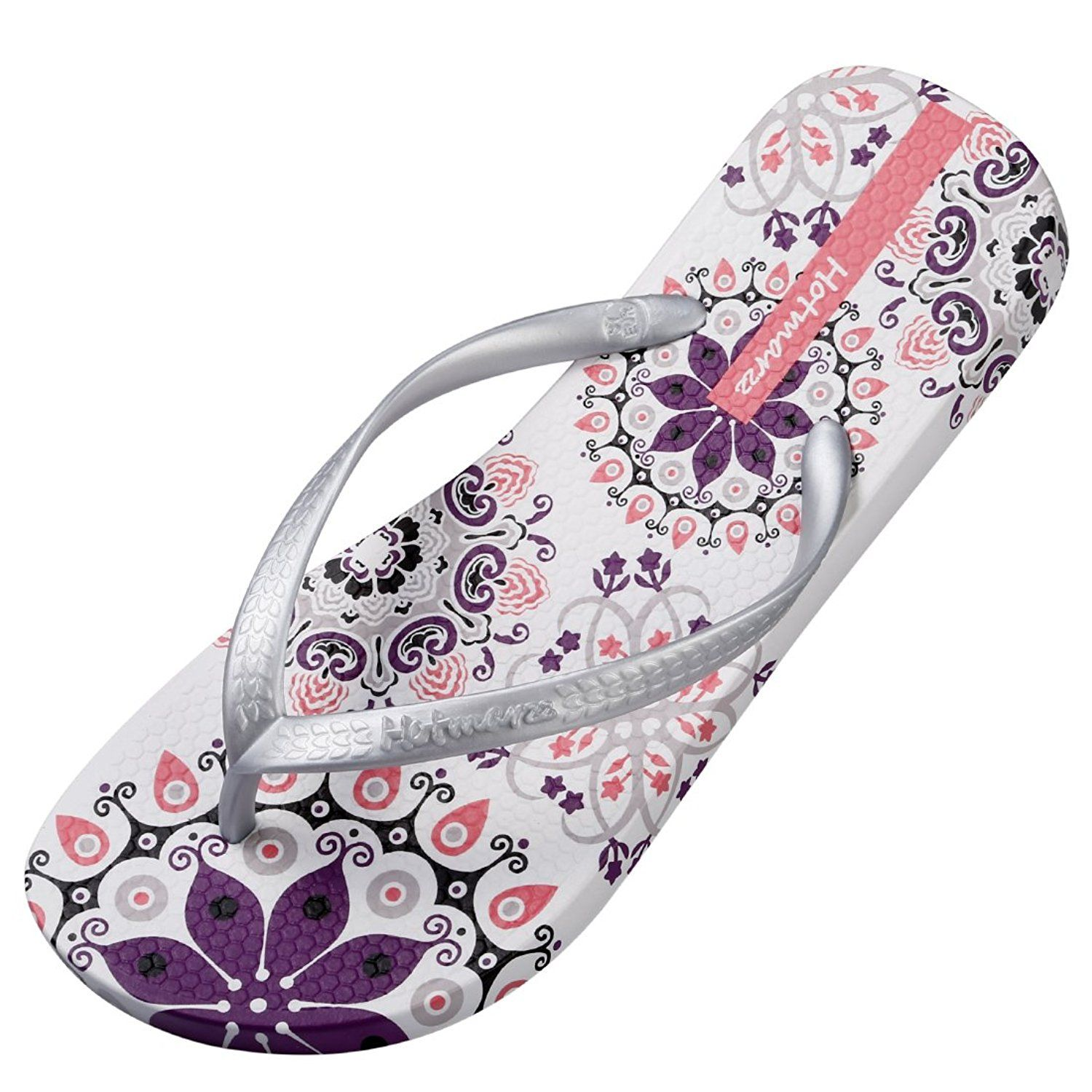 ad138fbff82d Hotmarzz Women s Flip Flops Bohemia Floral Print Sandals Beach Slippers --  Click image to review more details. (This is an affiliate link)  womenshoe