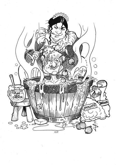 My Caricature Portfolio by Jan Szymczuk, via Behance