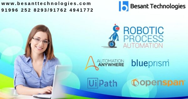 Besant Technologies is a leading provider of RPA Training in Chennai