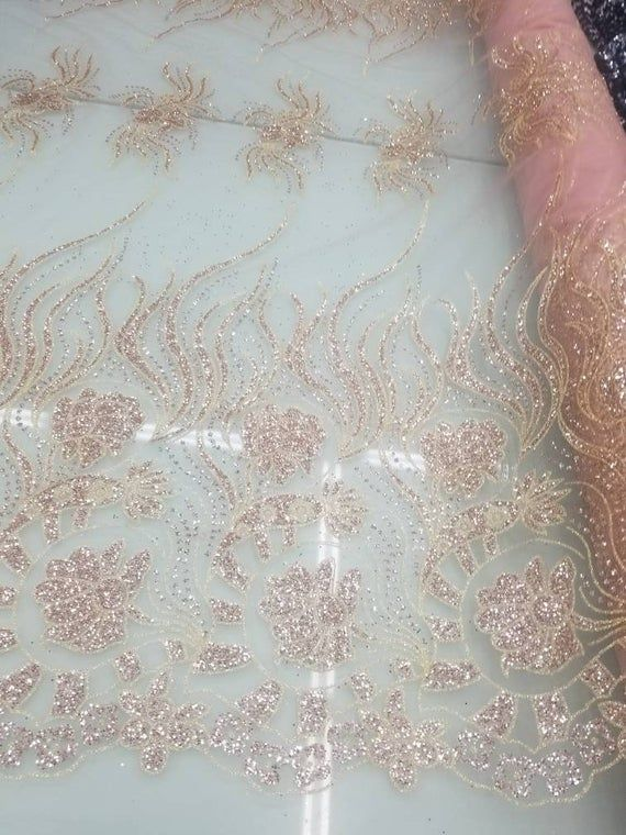 Fashion Supplier Apparel Sarong Announces The New: Glitter Metallic Fabric Usable For Decoration And Apparel