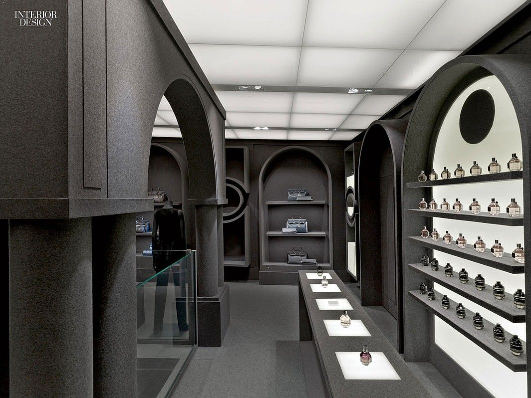 Interior Design Magazine: Viktor & Rolf's new Paris Flagship is lined entirely in grey felt. It was designed by Architecture & Associés. #InteriorDesignMagazine #ArchitectureAssociés #design #interiorDesign #viktorrolf #Paris #flagship #retail #fashion