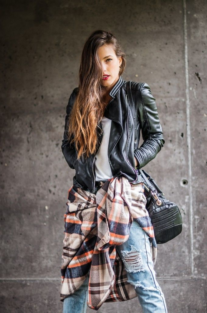 PLAID CAPE - Blog de moda: IST by Ingrid