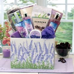 Moments of Relaxation Lavender Gift Basket