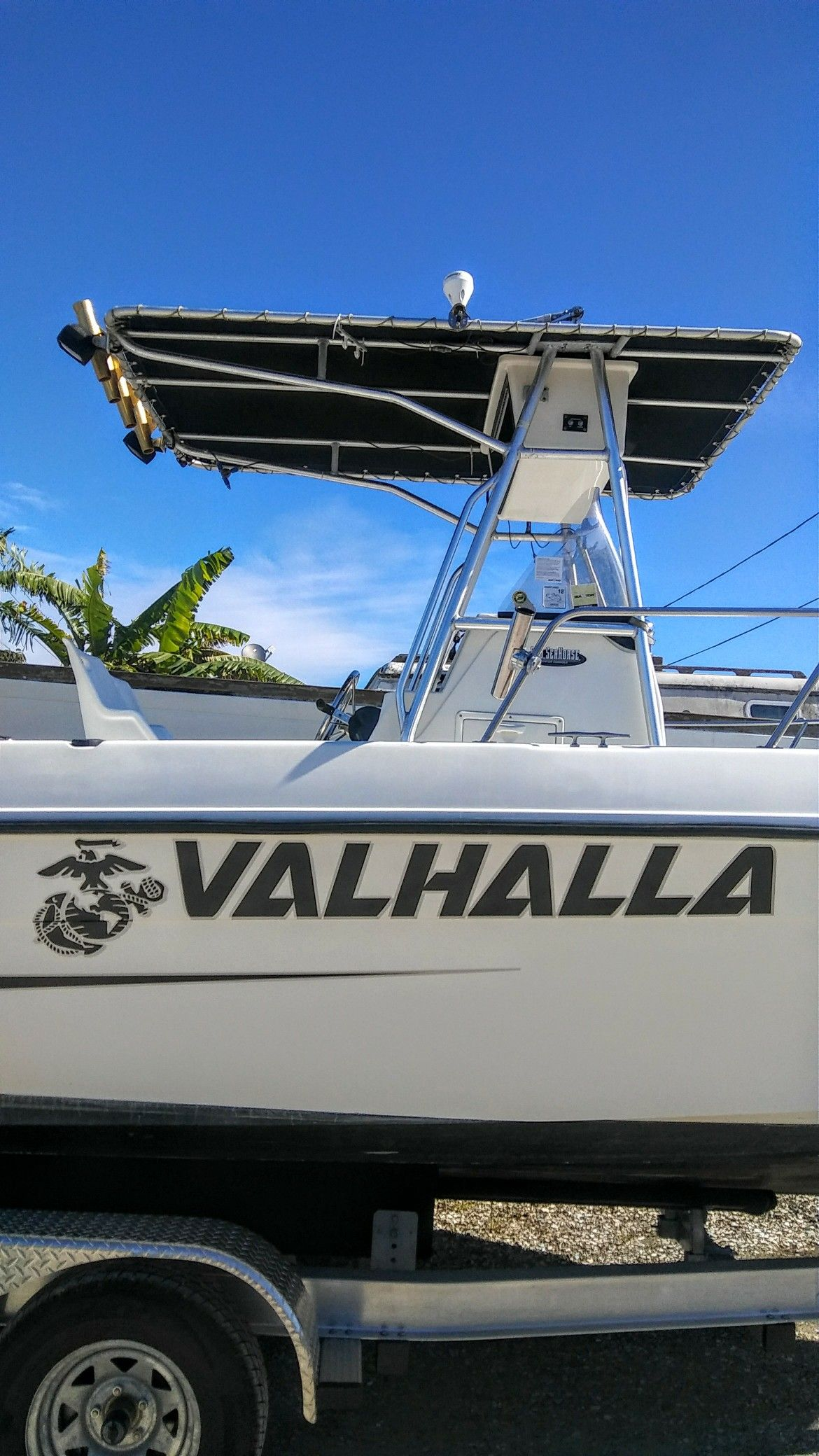 Valhalla boat name by the boat name guy boat name decals boat names
