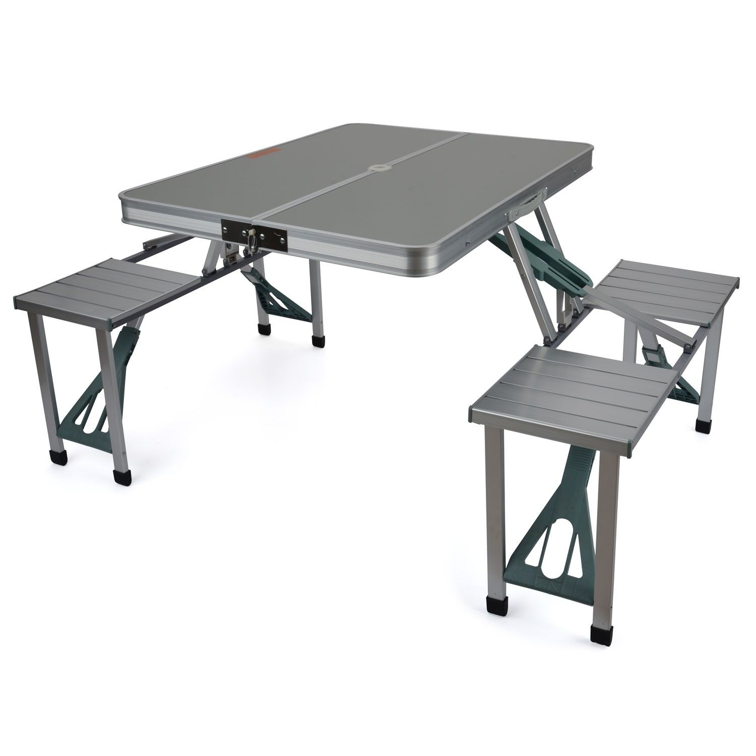 Aluminium Folding Picnic Table With Seats