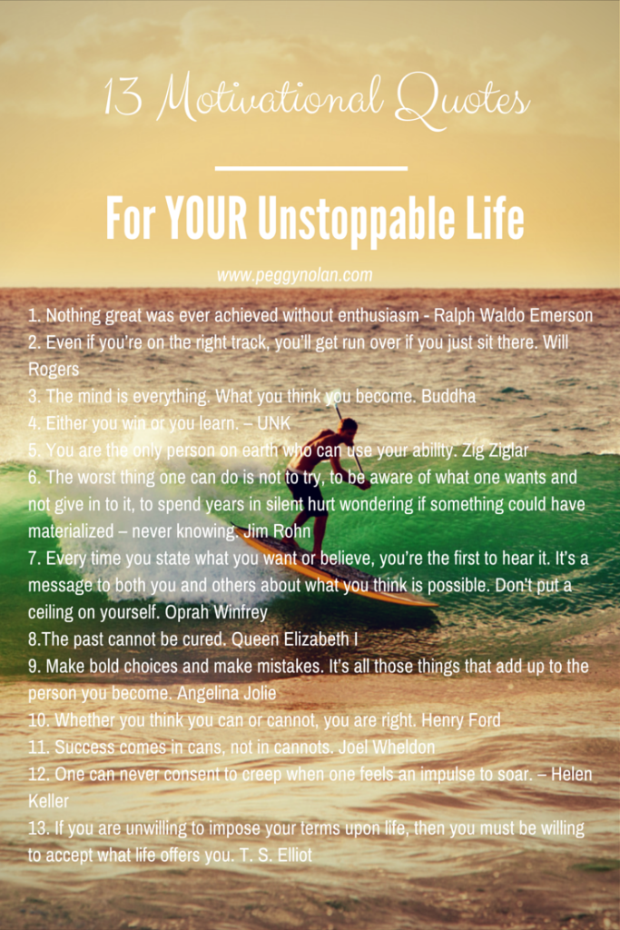 13 Motivational Quotes