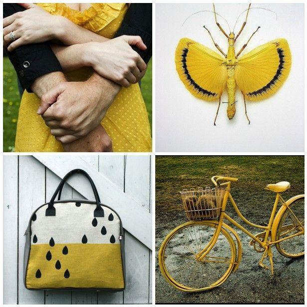 somehowlou: otra inspiración amarilla