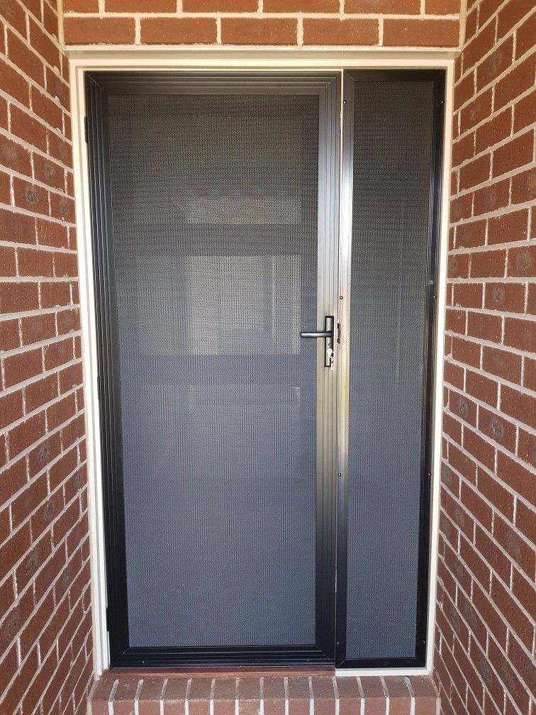 Security Front Door And Side Lights