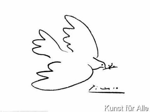 Pablo Picasso - Friedenstaube