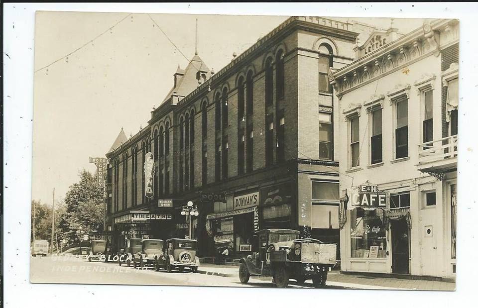 Independence Iowa Gedney Hotel 1920s