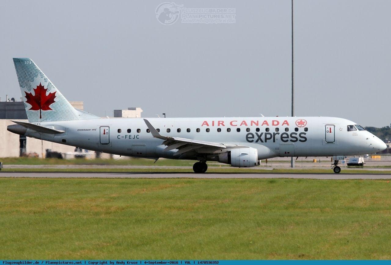 Photo Air Canada Embraer ERJ175200SU C FEJC