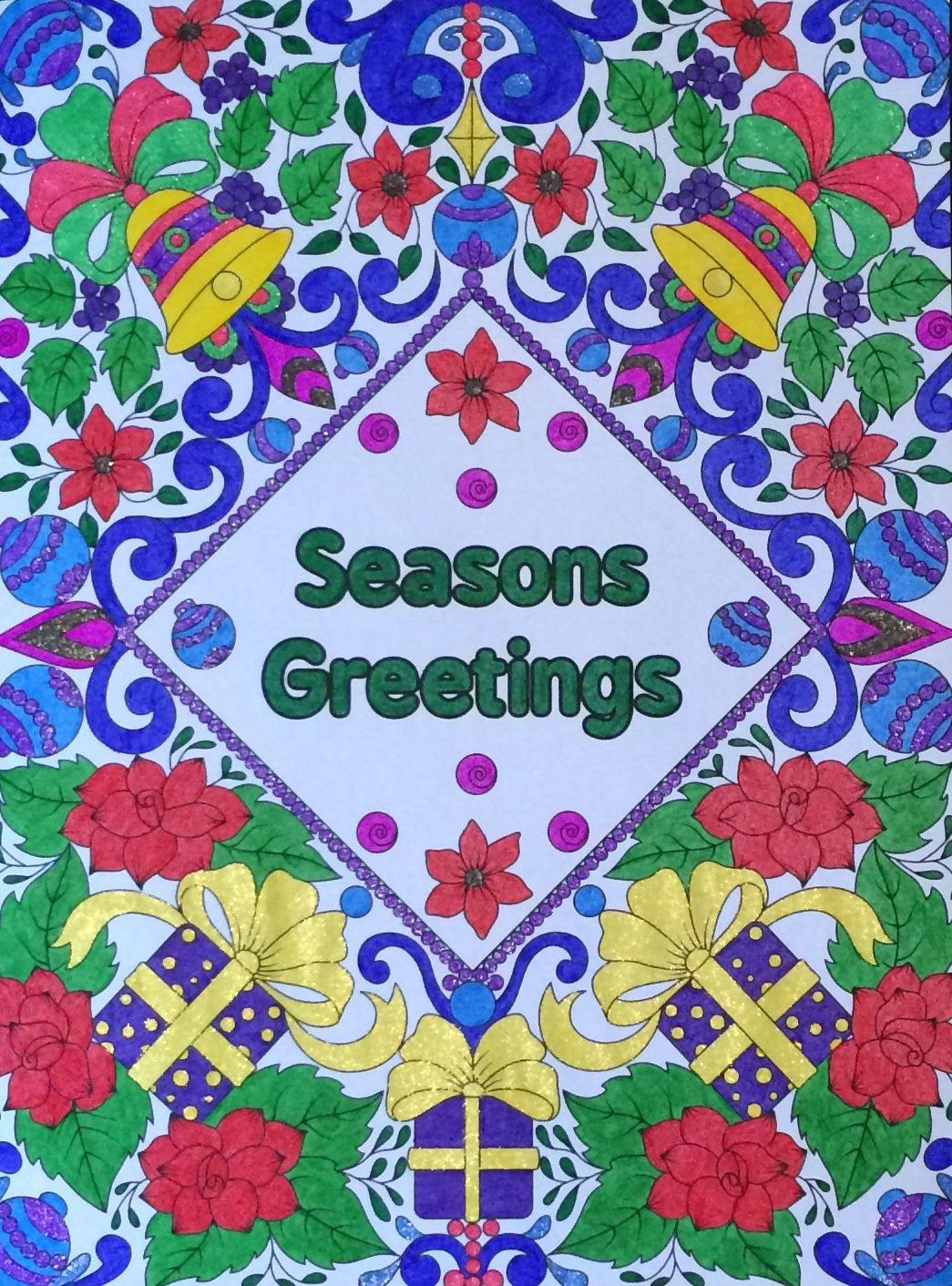 seasons greetings from the jade summer christmas book coloured by laura