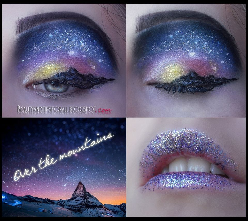 That is some pretty amazing make up artistry!