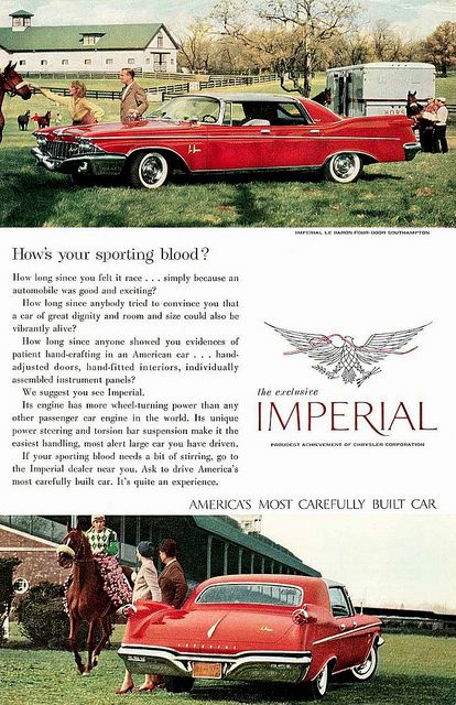1960 Imperial LeBaron • By Mad Man 1960, via Flickr