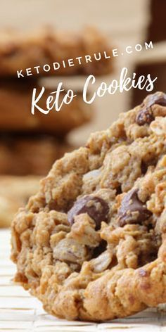 Keto Cookies: 5 Delicious Low-Carb Keto Cookie Recipes to Try #dessertrecipes