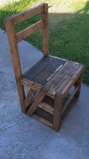 Lincoln Chair / Library Chair / Ladder Chair