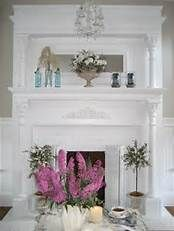 shabby chic mantles for fireplaces - Bing Images