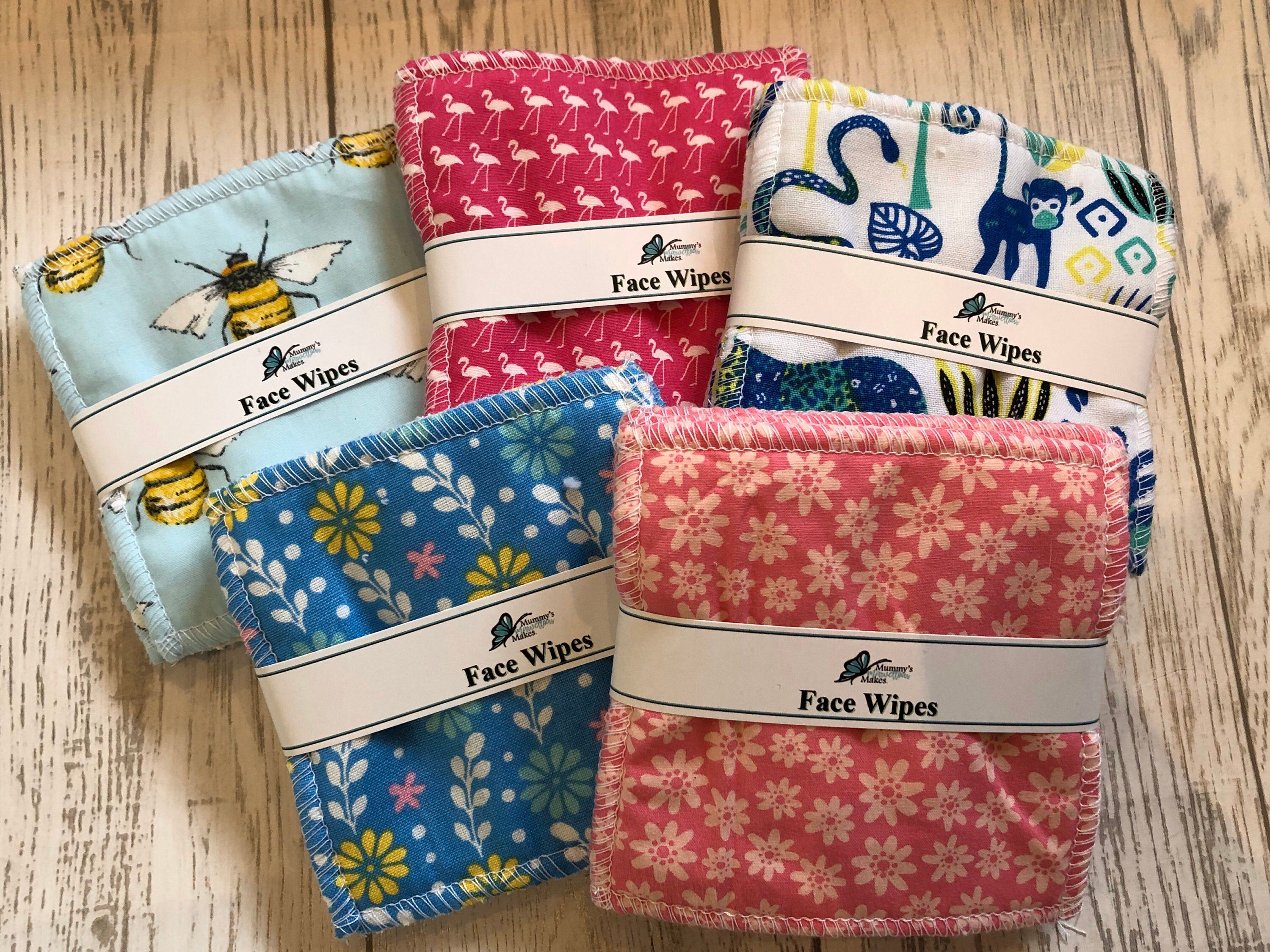 Soft Reusable Face Wipes, Makeup Wipes, Eye Make Up
