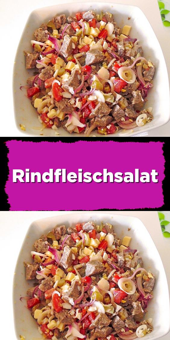 Rindfleischsalat #nutritionhealthyeating