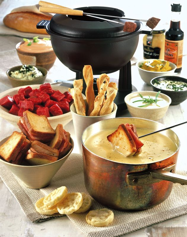 La fondue bourguignonne 2 entertain pinterest fondue - Cuisine bourguignonne ...