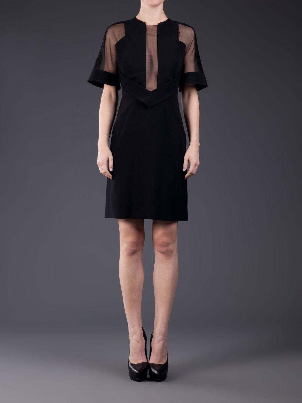David Koma Sheer Sleeve Dress - H. Lorenzo - farfetch.com