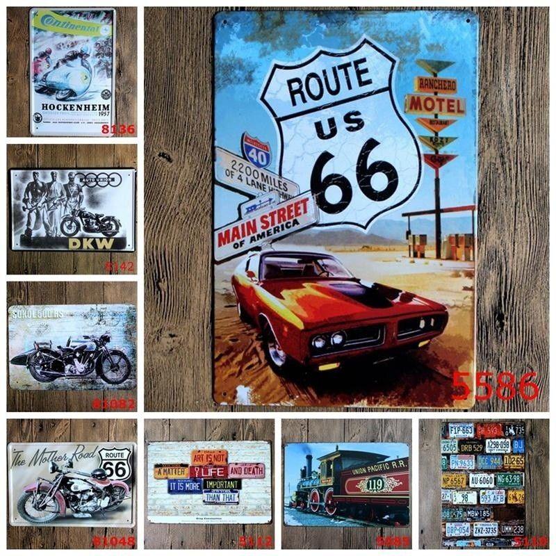 Metall Blechschild Poster Plaque Bar Pub Club Cafe Home Platte Wandkunst