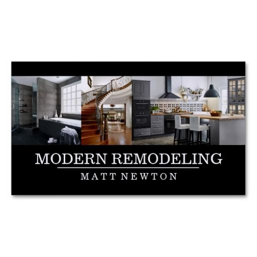 House Home Remodeling Contractor Construction Business Card Zazzle Com Home Remodeling Contractors Remodeling Contractors Remodeling Business