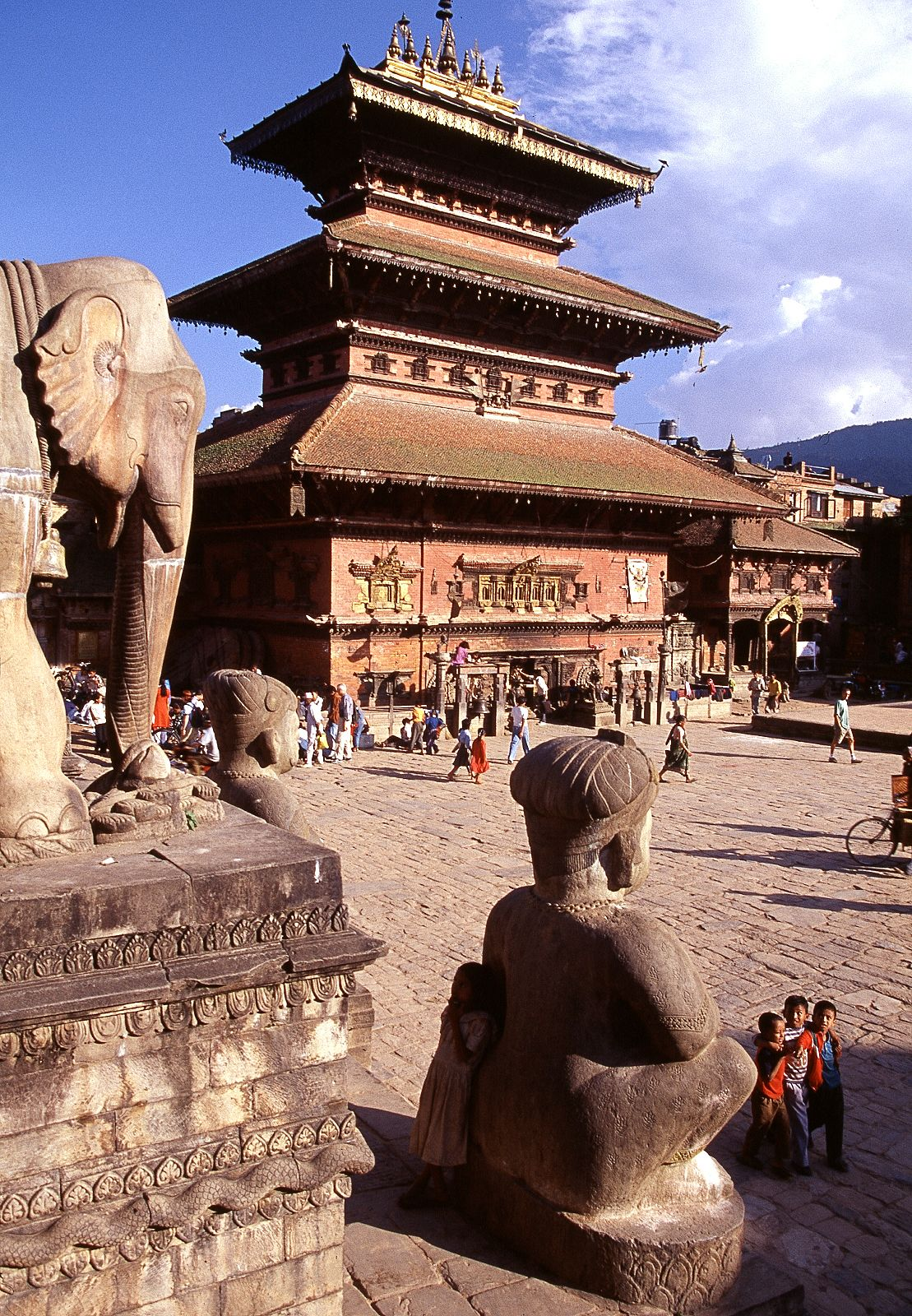 the bhairav temple in bhaktapur a unesco world heritage site in the rh pinterest com