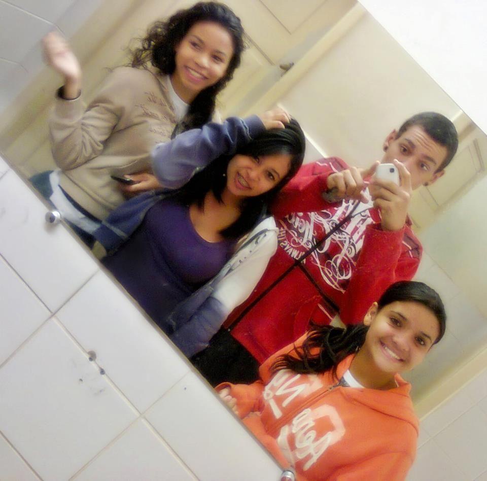 Débora, me, Lucas and Poliana