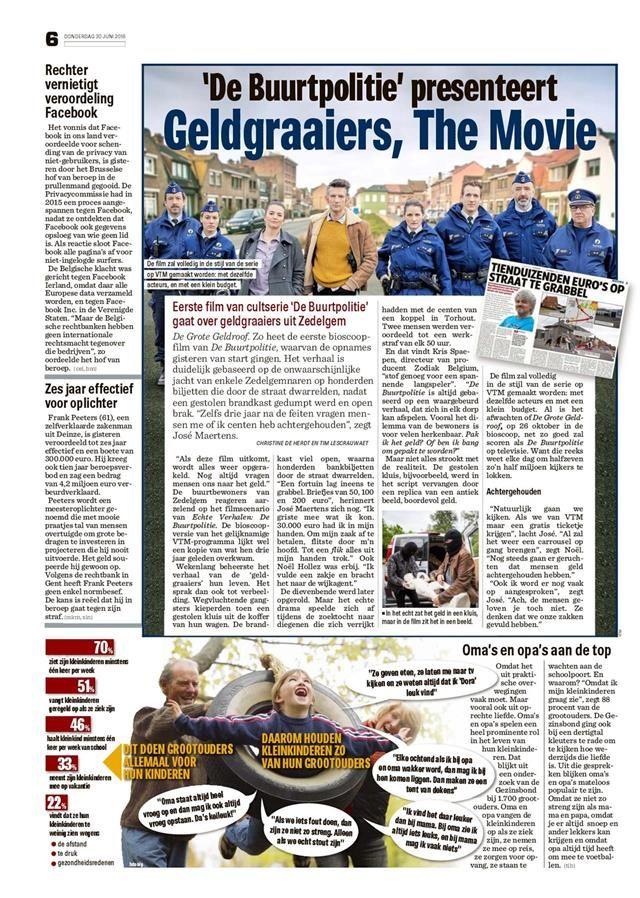 Digikrant Het Nieuwsblad Reader The reader, Bioscoop, Film