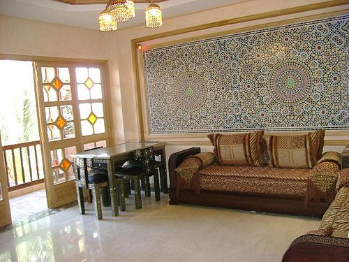 Salon marocain salons pinterest salons interiors - Site decoration maison pas cher ...