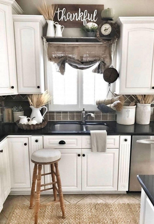 26 elegant farmhouse decor ideas farmhouse kitchen decor rustic farmhouse kitchen kitchen on kitchen ideas elegant id=81181
