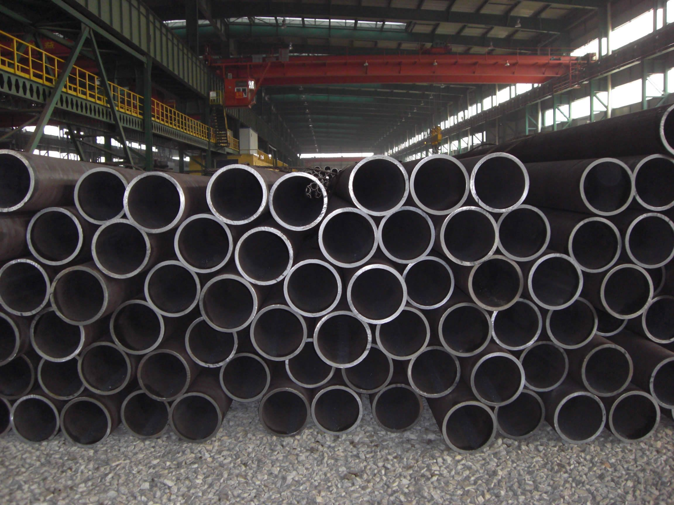 Carbon steel pipe including carbon structural steel grades