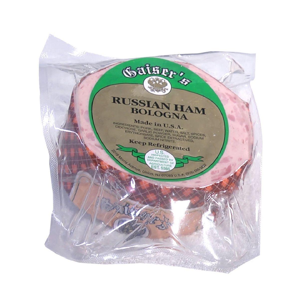 Russian Ham Bologna | Ham, Food