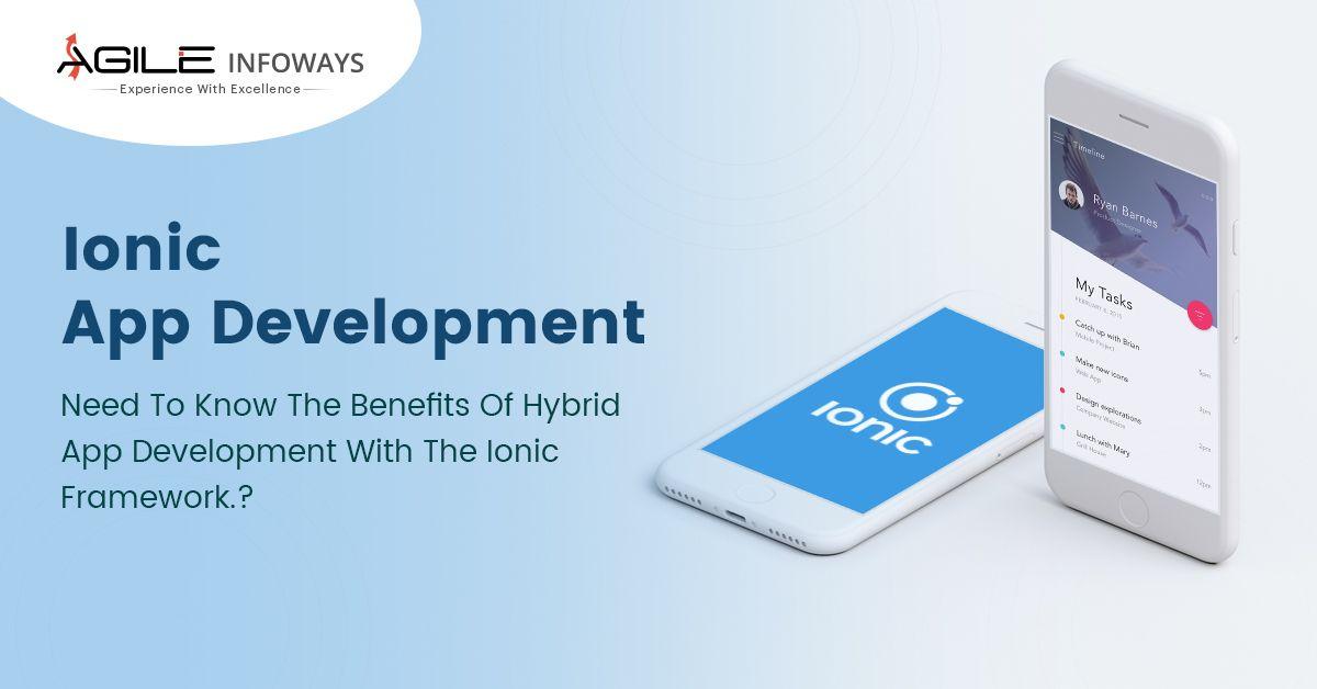 Custom Ionic Hybrid Mobile Application Development Company