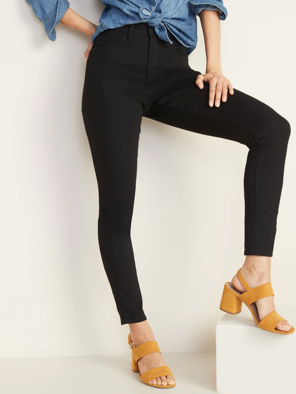 HighWaisted Pop Icon Skinny Jeans For Women Old Navy in