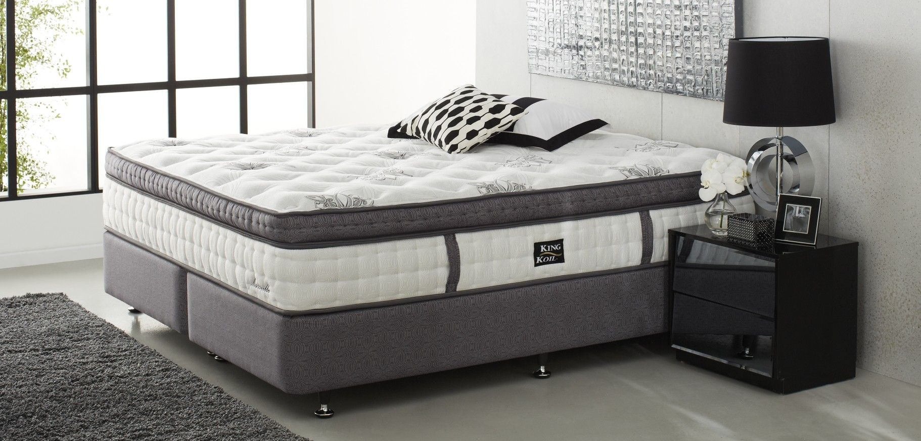 Marseille Bedroom Furniture King Koil Platinum Luxury Marseille Mk2 Winners Pinterest