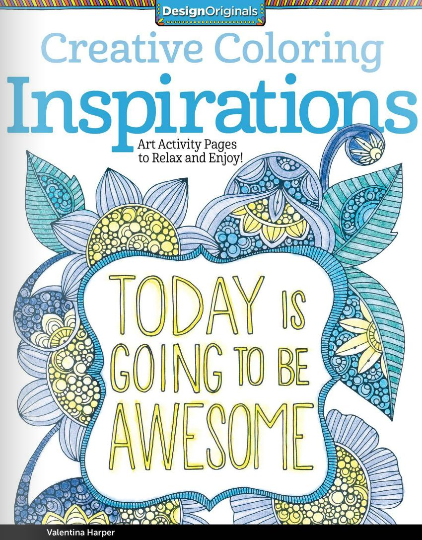 Art therapy coloring book michael omara - Inspirational Quotes Coloring Book For Adults