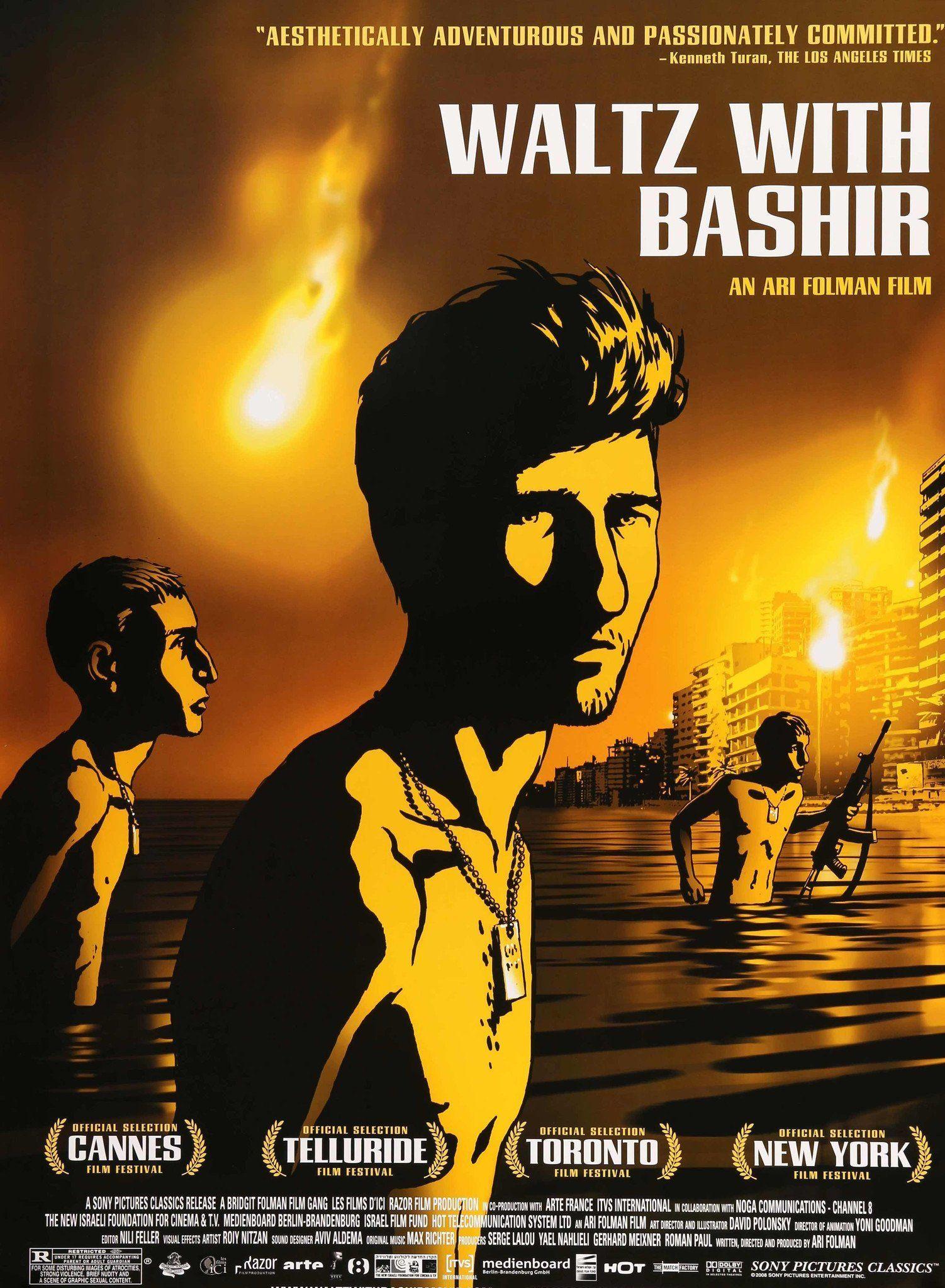 Waltz With Bashir 2008 Film D Documentary Film Film Director