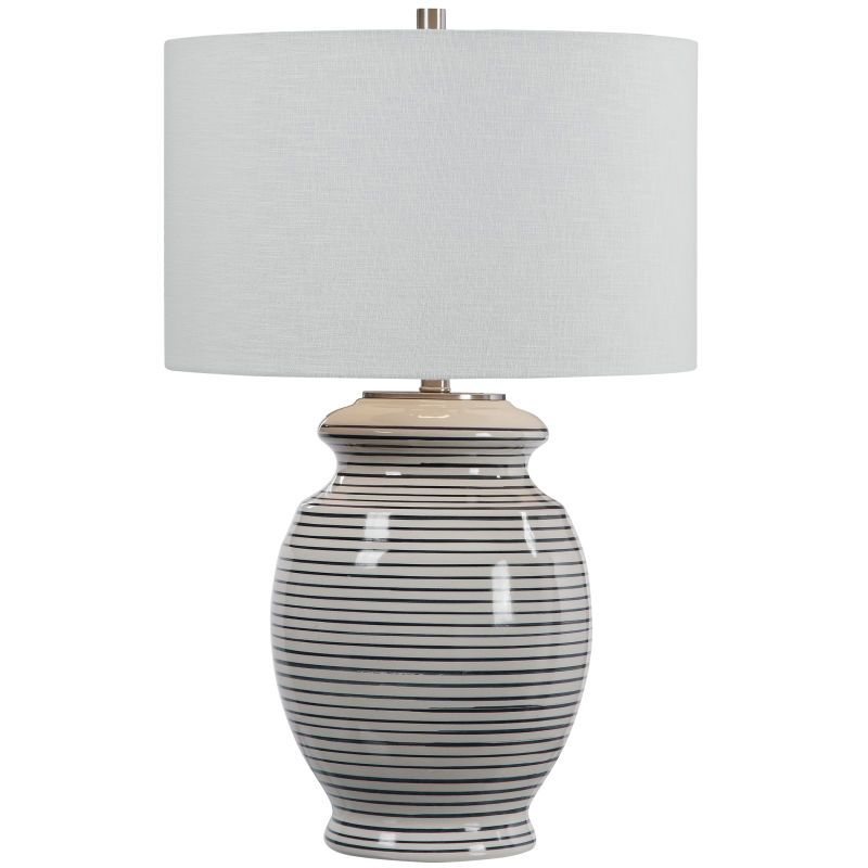 Uttermost Marisa Off White Table Lamp In 2021 White Table Lamp Ceramic Table Lamps Vase Table Lamp