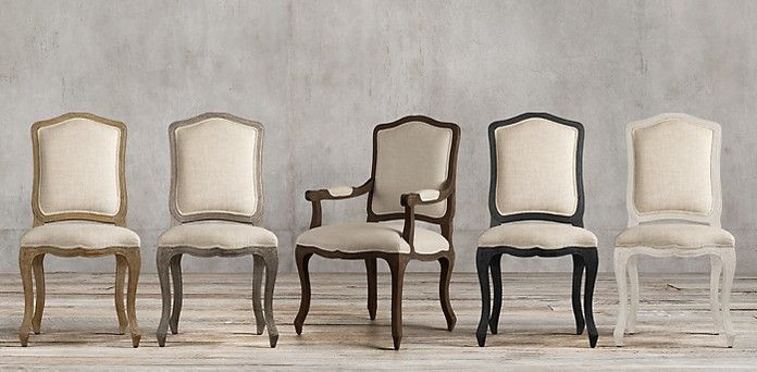 Vintage French Camelback | Restoration Hardware - Dining Chairs ...