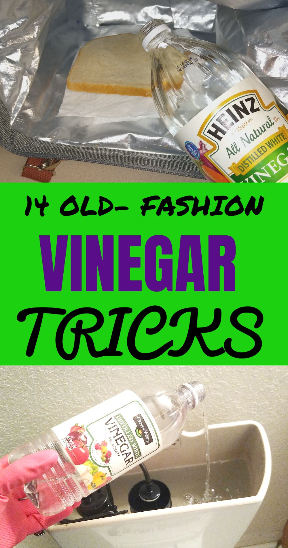 30 OldFashion Uses For Vinegar That Will Knock Your Socks